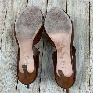 Talbots Shoes - Talbots Peep Toe Bow Heels
